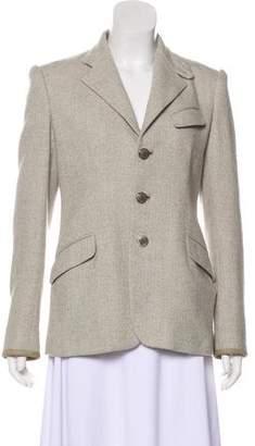 Ralph Lauren Silk & Wool Coat