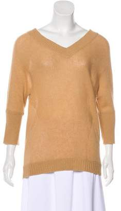 Magaschoni Cashmere V-Neck Sweater