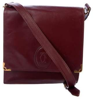 Pre Owned At Therealreal Cartier Vintage Les Must De Crossbody