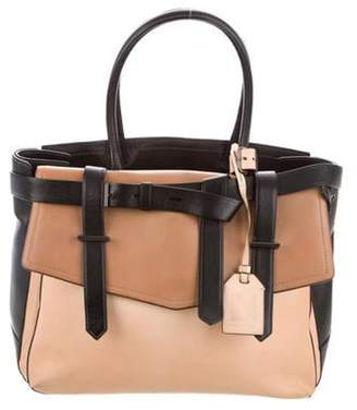 Reed Krakoff Boxer II Leather Tote Brown Boxer II Leather Tote