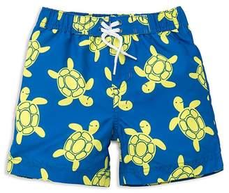 Little Me Boys' Turtle Swim Trunks - Baby