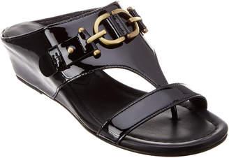 Donald J Pliner Dayna Patent Wedge Sandal