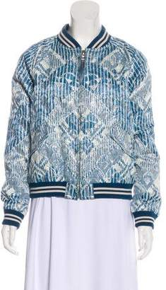 Marc by Marc Jacobs Brocade Bomber Jacket