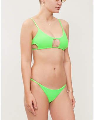 a84551ea9 Frankie's Bikinis FRANKIES BIKINIS Willa scoop-neck bikini top