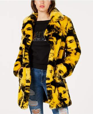 GUESS Pia Faux-Fur Coat