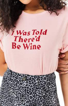 Ban.do I Was Told There'd Be Wine T-Shirt