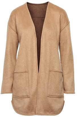Banana Republic Petite Reversible Stretch Wool-Blend Coat