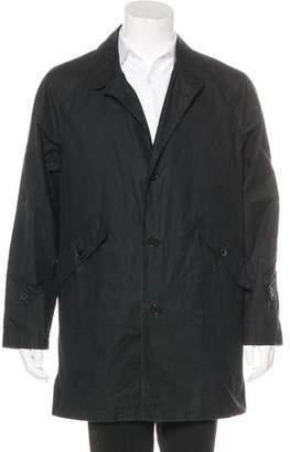 Billy Reid Woven Car Coat