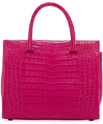 Nancy Gonzalez Bolt Large Crocodile Tote Bag