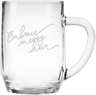Susquehanna Glass 20Oz Embrace Messy Hair Mug