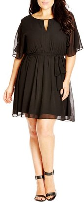Plus Size Women's City Chic Metal Bar Tunic $79 thestylecure.com