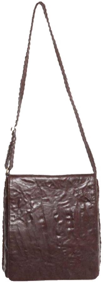 Rough Roses Francesca Shoulder Bag with Stitching