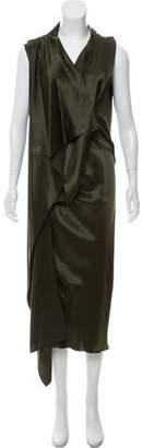 Roksanda Draped Midi Dress
