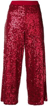 P.A.R.O.S.H. sequined culottes