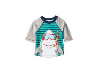 Mud Pie Shark Rashguard (Infant/Toddler)