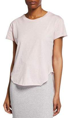 Frank And Eileen Vintage Raw-edge Short-Sleeve Cotton Tee