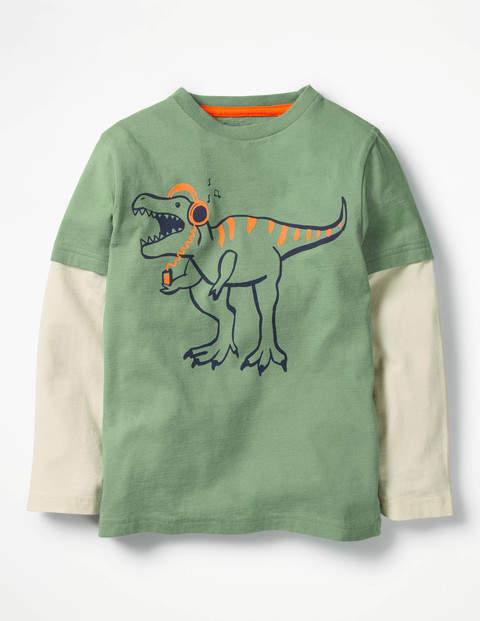 Layered Party Animal T-shirt