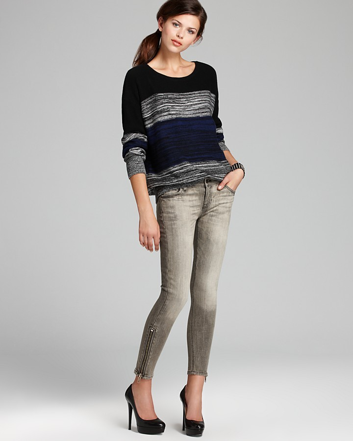 LnA Sweater - Multi Striped