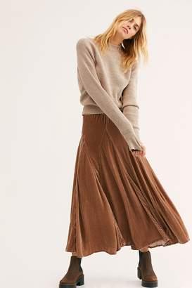 Cp Shades Lily Velvet Maxi Skirt