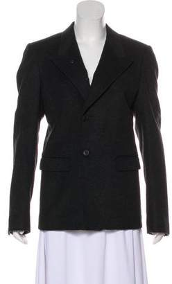 Dolce & Gabbana Asymmetrical Wool Blazer w/ Tags