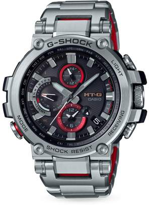 G Shock Analogue Stainless Steel Bracelet Watch