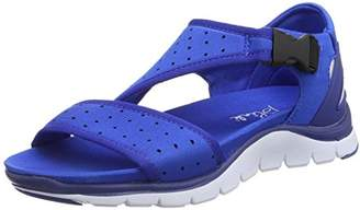 Blink Women's Bcoin-sandalL Open Toe Sandals Blue Size: 6