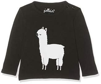 Jollein Long Sleeves Shirt, Size 50/56, Lama Black/White