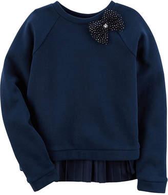 Carter's Long Sleeve Sweatshirt - Preschool Girls