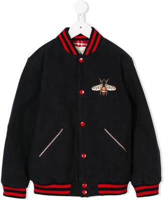 Bumble Bee Gucci Kids bomber jacket