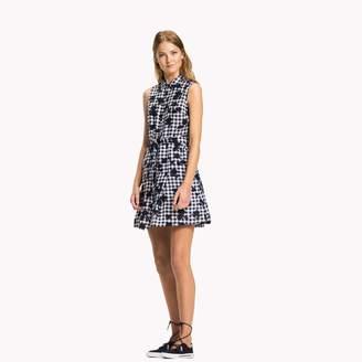 Tommy Hilfiger Linen Sleeveless Shirt Dress