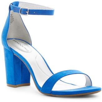 Bandolino Armory Ankle Strap Sandal $59 thestylecure.com