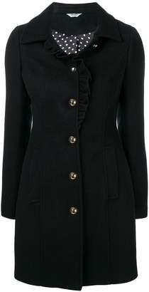 Liu Jo ruffle trim coat