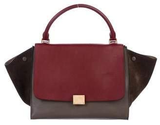 da5353cd9b8b Celine Two-tone Leather Bag - ShopStyle