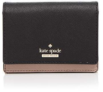 Kate Spade kate spade new york Cameron Street Beca Color Block Saffiano Leather Wallet
