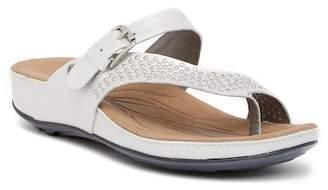 Romika Fidschi 34 Wedge Thong Sandal