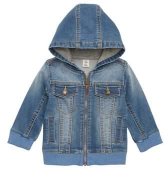 Tucker + Tate Denim Knit Hooded Jacket