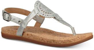 UGG Women Ayden Footbed Flat Sandals