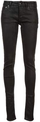 Rick Owens waxed skinny jeans