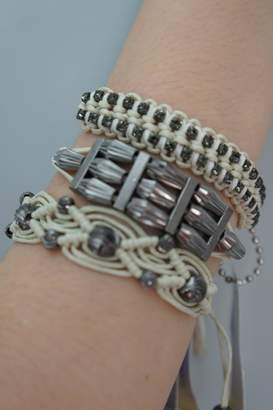 Rose Crystal Beads Bracelets
