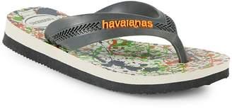 Havaianas Kid's Max Trend Rubber Flip Flops