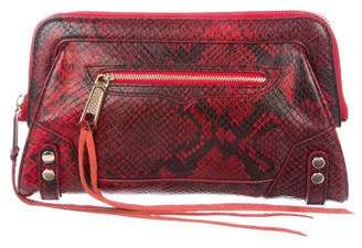 Rebecca Minkoff Embossed Leather Clutch