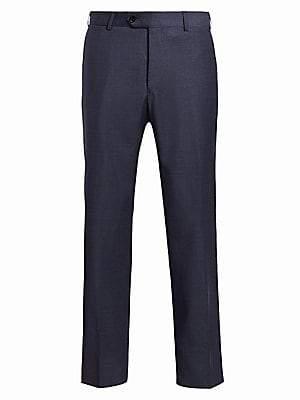 Emporio Armani Men's Wool Pants