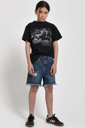 One Teaspoon Mrblacks Denim Shorts
