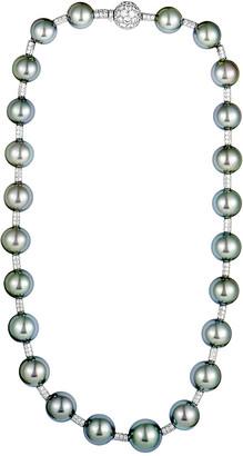 Chanel Heritage  18K 6.00 Ct. Tw. Diamond & Pearl Necklace