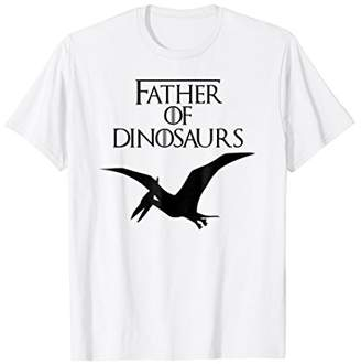 Father of Dinosaurs | Pterodactyl Dad Gift T-Shirt E010386