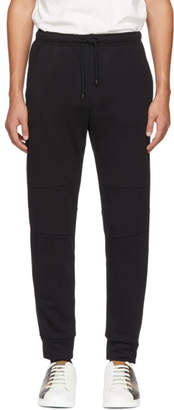 Fendi Black Cotton Lounge Pants