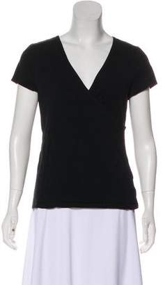 Lauren Ralph Lauren Short Sleeve Knit Top