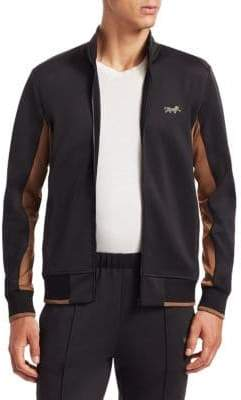 Ovadia & Sons Leopard Track Jacket