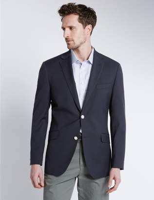 Marks and Spencer Big & Tall Performance Wool Blend Blazer