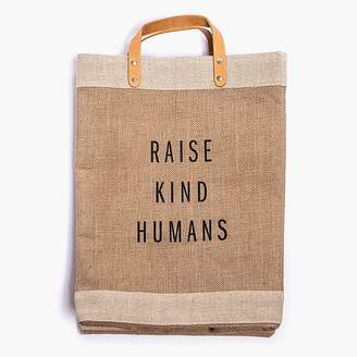 Apolis ApolisTM Raise Kind Humans market bag